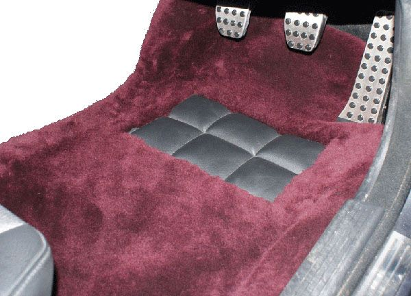 Front Pair Sheepskin Over Rugs Mercedes S Class W116